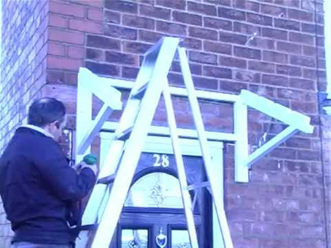 Door Awning & Door Awning - YouTube