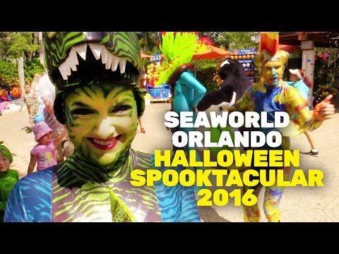 SeaWorld Orlando's Halloween Spooktacular - Opening Day 2016