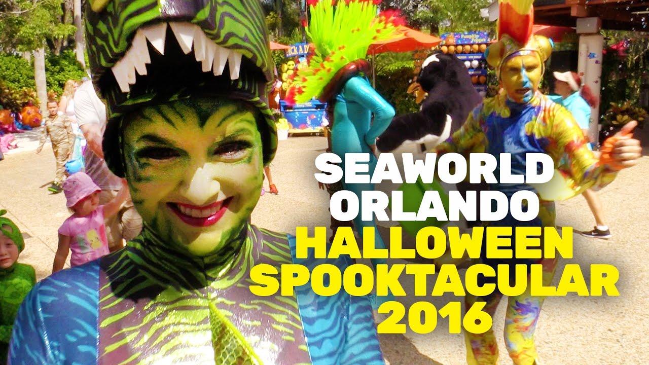 Halloween Spooktacular Seaworld.Seaworld Orlando S Halloween Spooktacular Opening Day 2016