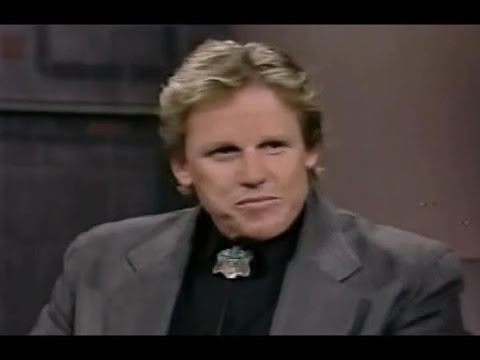 1989 - Gary Busey (year after the accident) - YouTube