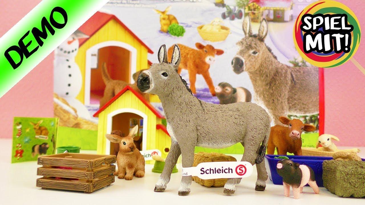 Weihnachtskalender Schleich Pferde.Das Sind Die Neuen Schleich Adventskalender Die Komplettübersicht
