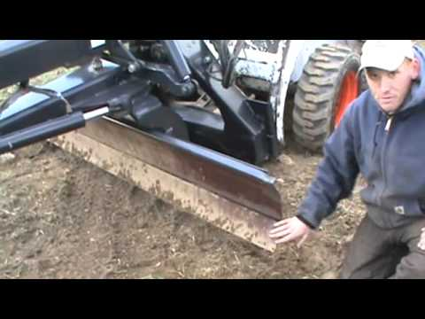 Bobcat 7 Grader Attachment For Skid Steer Loader For Sale