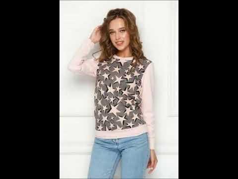 Свитшоты Джемпера Магазин женской одежды Feya