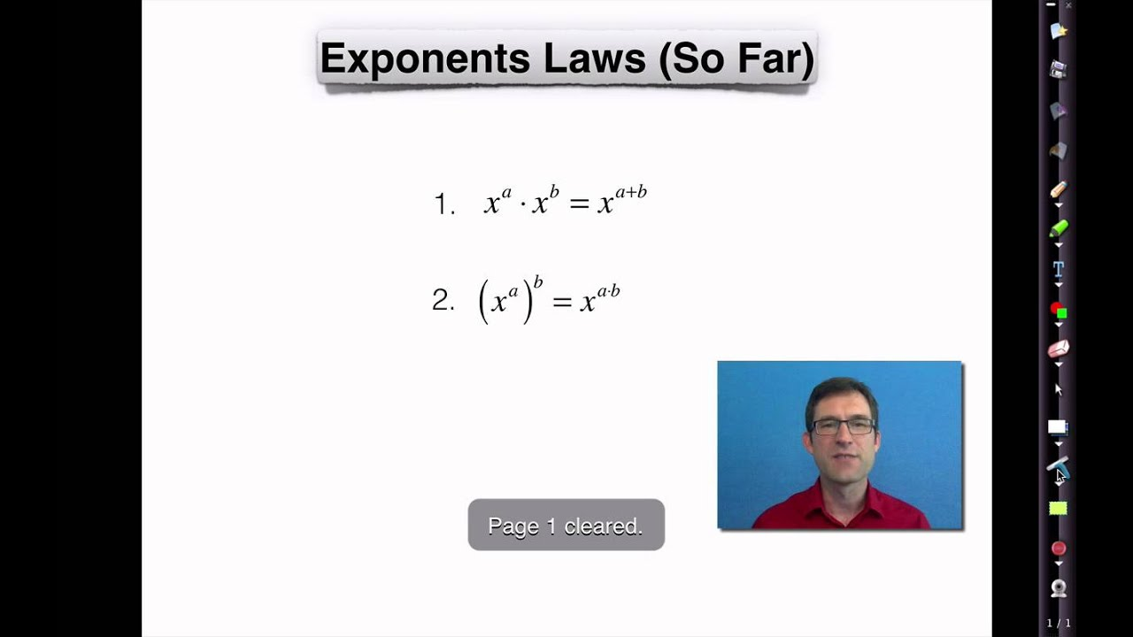 Common Core Algebra I Unit 6 Lesson 2 Zero And Negative Exponents
