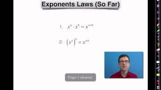 Common Core Algebra I.unit #6.lesson #2.zero And Negative Exponents
