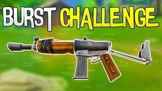 NUR BURST CHALLENGE | Fortnite Battle Royale