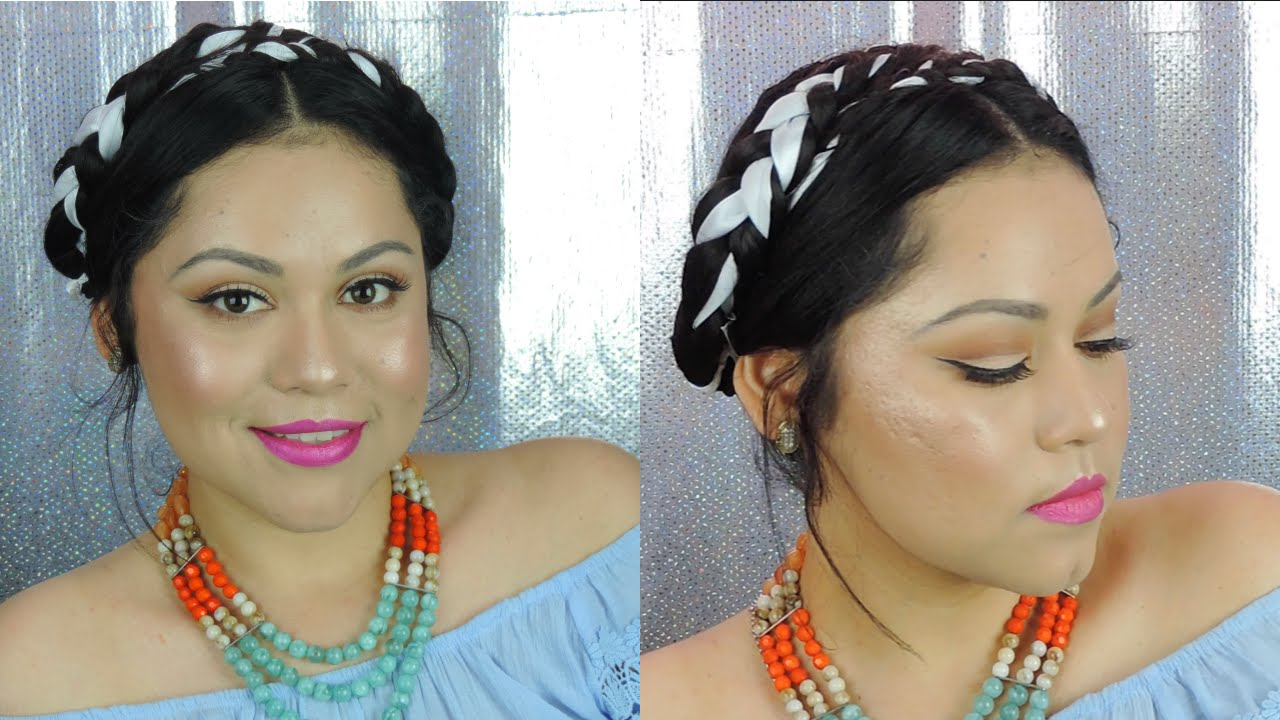 Peinado estilo frida kahlo youtube - Estilo frida kahlo ...