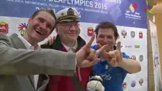 WINTER DEAFLYMPICS: Mime and Gesture Theatre Recap: Entertainment.