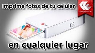 ¡Imprime fotos de tu celular en cualquier lugar!