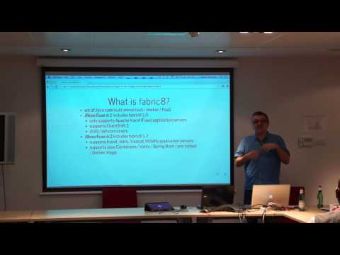 James Strachan, Red Hat (Fuse, Camel, Apache) at JBUG Scotland, 22.10.14