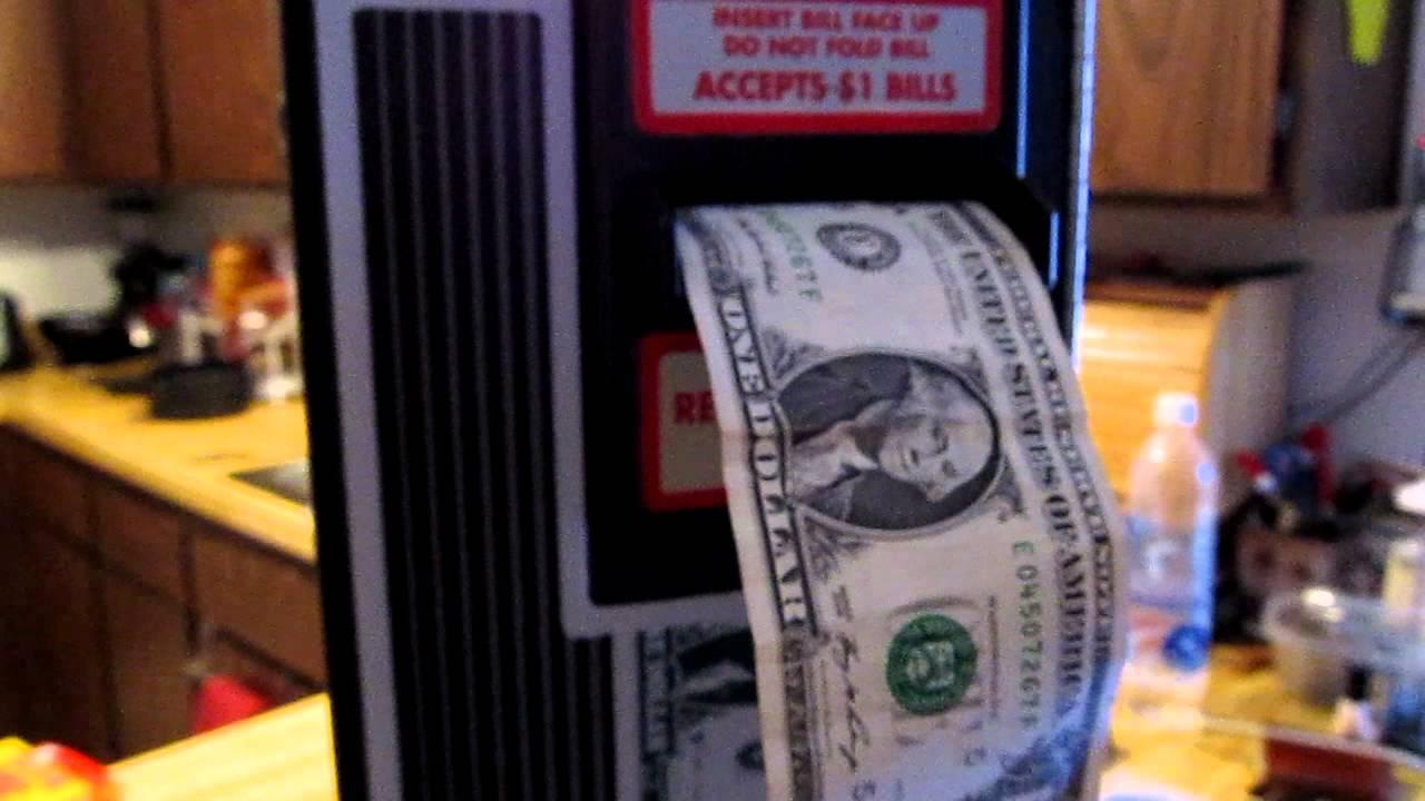 bill changer machine
