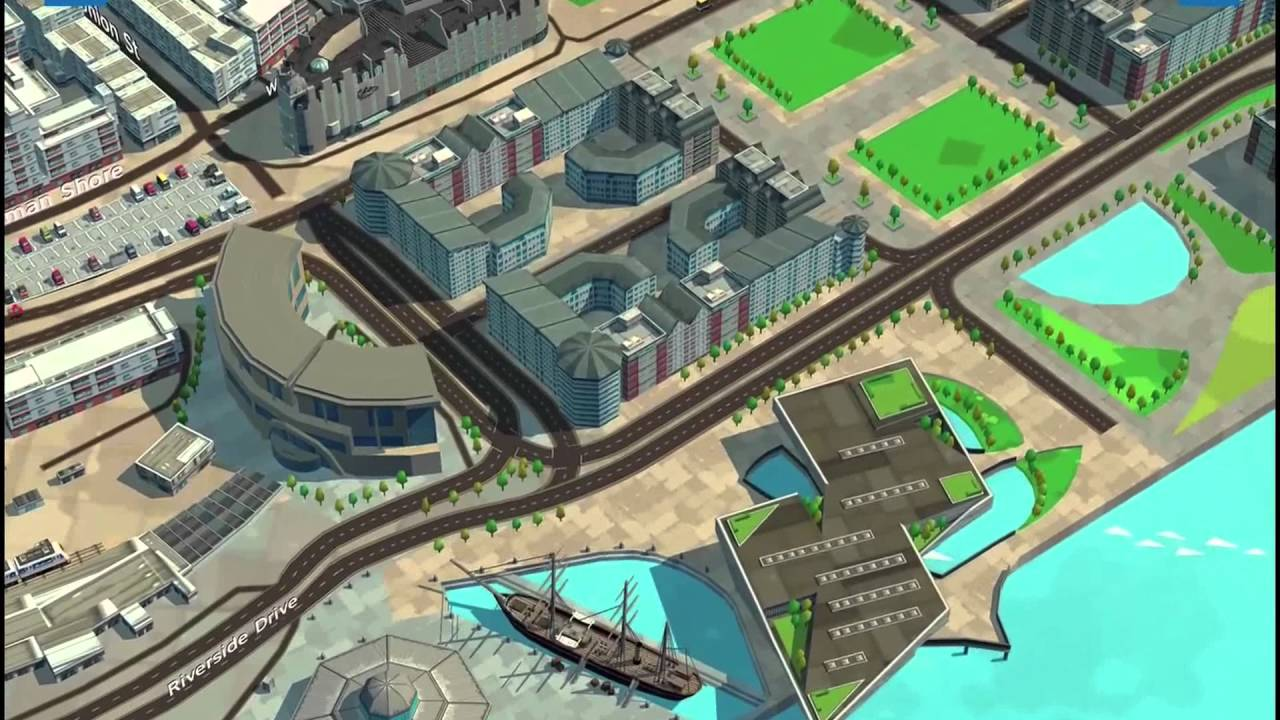 Dundee Waterfront WRLD 3D Maps YouTube