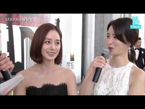 151009 김태희 Kim Tae Hee Interview cut @ 2015 Korea Drama Awards