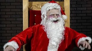 Amazing life size santa claus animatronic christmas store display by distortions unlimited. this st nicholas talking prop is perfect for malls, retail stores...