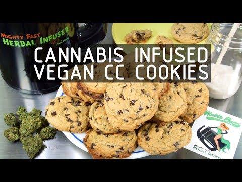 Cannabis Infused Vegan Chocolate Chip Cookies Recipe: Infused Eats #59