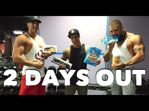 IFBB NORTH AMERICANS 2017   2 DAYS OUT!!   CHEAT MEAL TRADE & GOLDS GYM