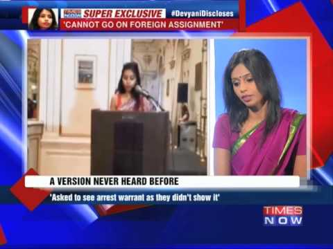 Exclusive Interveiw: For the first time: Devyani Khobragade