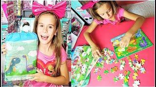 Tepsmigo Деревянные Детские Пазлы с Животными Набор Детям  Каролина Kids Wooden Animal Puzzles