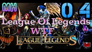 LOL WTF Moment 04: Leblanc Insane juke, Khazix jump, Lee Sin calculating
