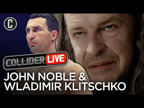 John Noble and Wladimir Klitschko in Studio  Collider Live 29
