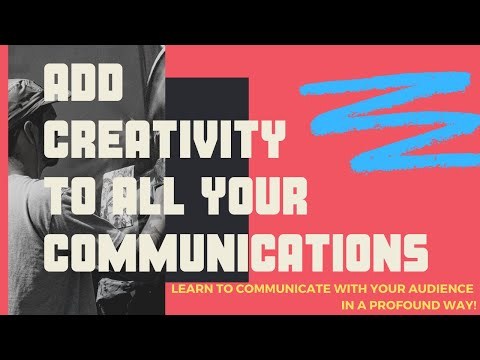 Add Creativity to All Your Communications thumbnail
