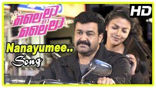 Lailaa O Lailaa Movie Scenes | Nanayumee Song | Mohanlal and Amala get married