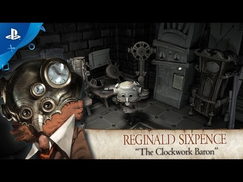 The Sexy Brutale - Character Trailer: Reginald Sixpence - PS4