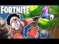 FORTNITE BR - SNEAKY PLAYS, C4 TRAPS, TREE LLAMA AND IMPULSE NADES! (Funny Moments)