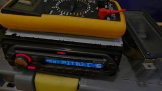 Radio Sony pobór prądu