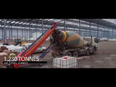 Industrial Promo Video with drone and time lapse