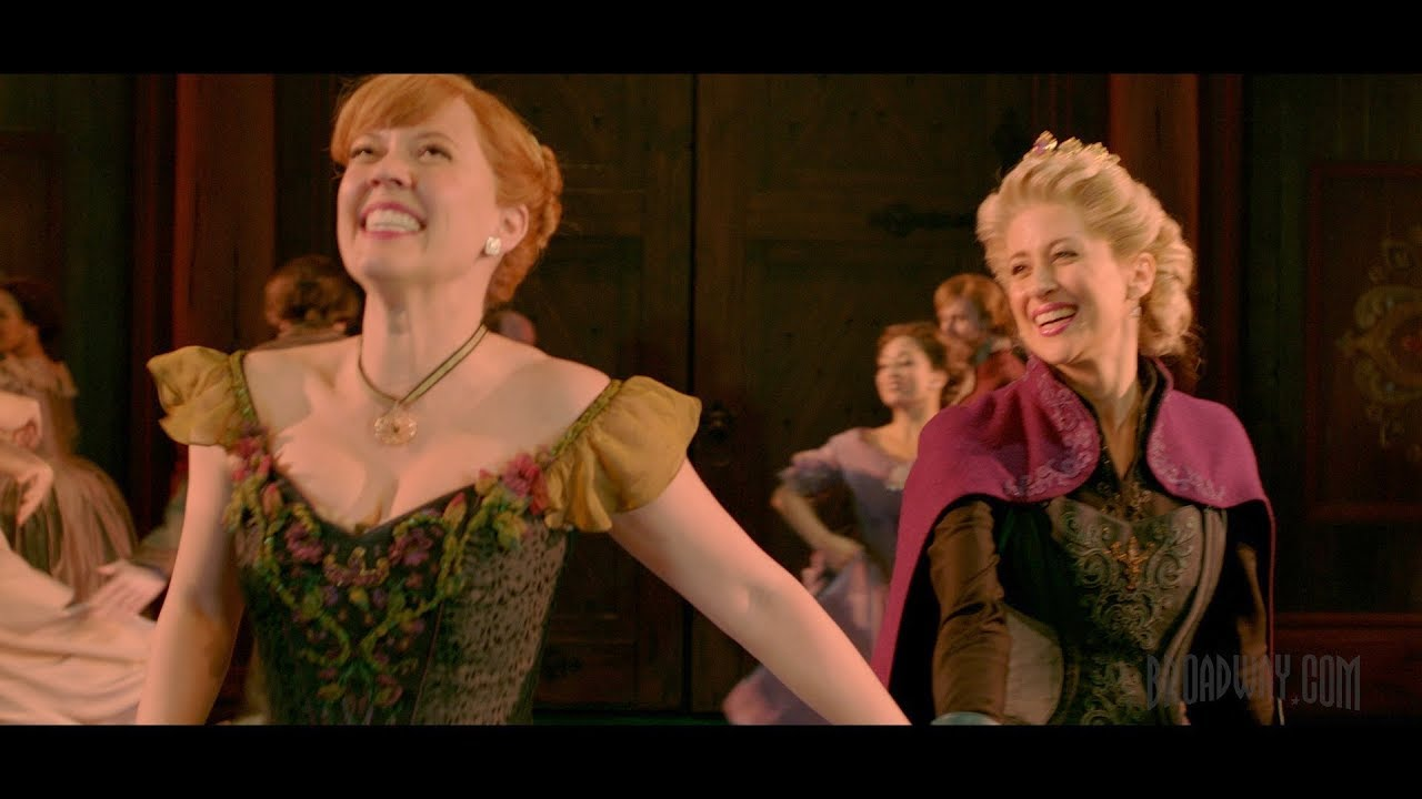 Show Clips - FROZEN, Starring Caissie Levy and Patti Murin