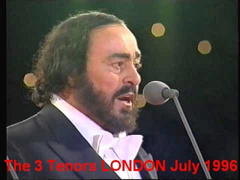 The Three Tenors LONDON 1996 (FULL CONCERT)
