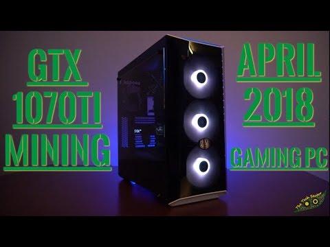 Make Your PC Pay For Itself!! GTX 1070ti Mining Profitability | April 2018