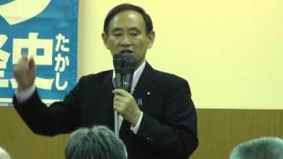 JA草津本店にて、菅義偉(すが よしひで)官房長官の応援演説がありま...