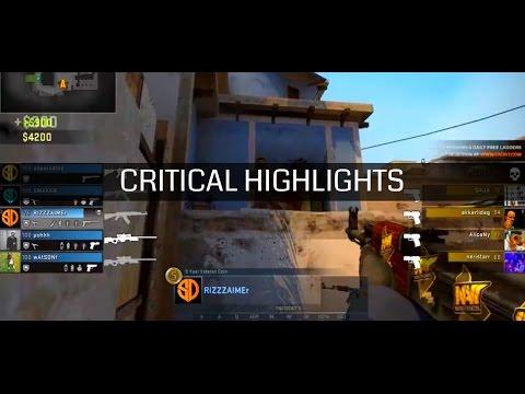 Jogador de CS:GO mata time adversário inteiro em menos de 1 segundo - Critical Highlights