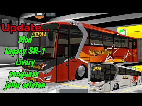 Repeat Bus Simulator Indonesia - Mod Legacy SR1 Update RSM