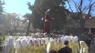 Procesión Gamarra 2015  Toques campana Pte  Agrupación Cofradías