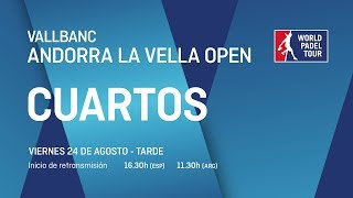 Cuartos de final masculinos - Vallbanc Andorra La Vella Open 2018 - World Padel Tour