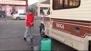 Getting Free Water Into My RV
