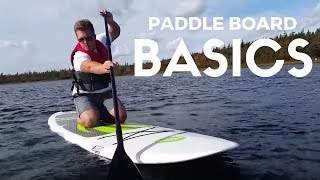 Basic Stand Up Paddle Boarding Tutorial (SUP)