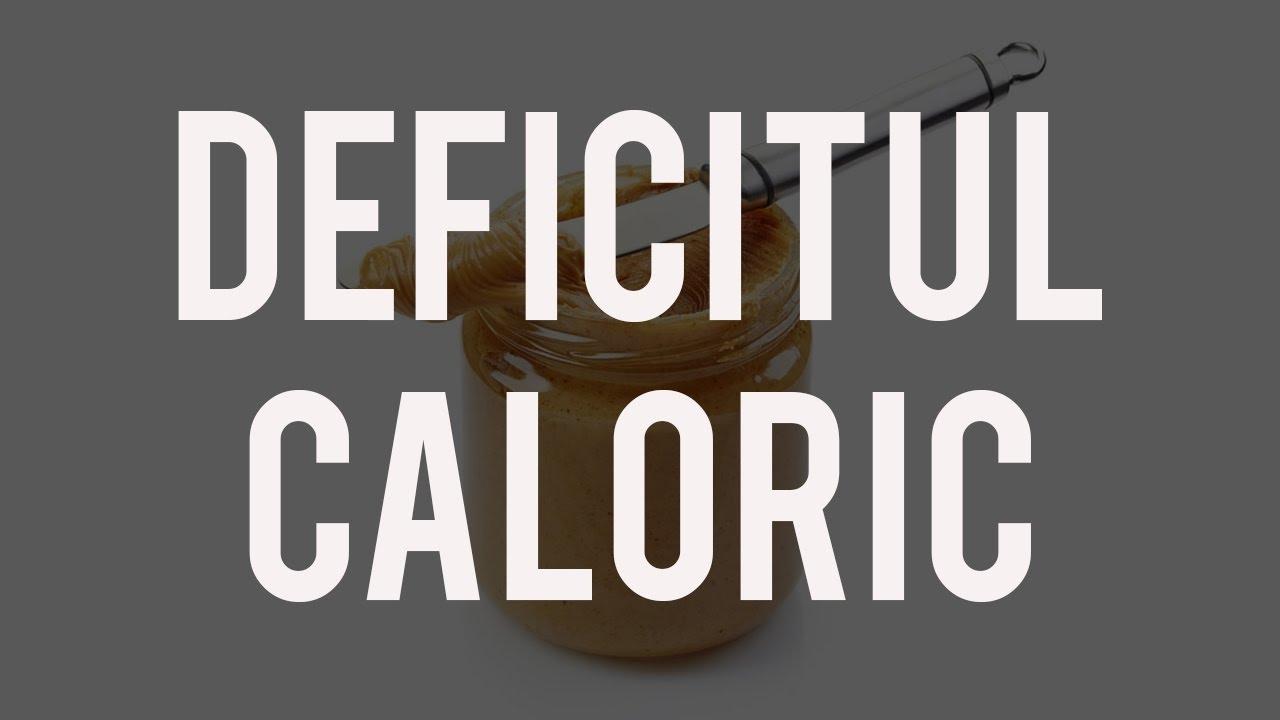 slabire deficit caloric