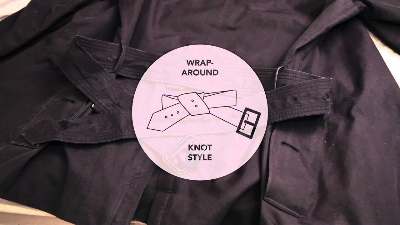 How to tie a jacket 15