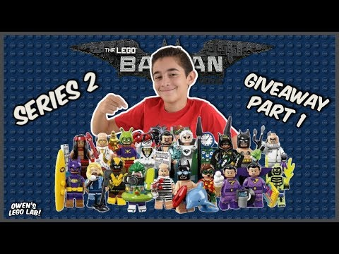 LEGO Batman Movie Minifig Series 2 Blind Bag Opening & GIVEAWAY   Part 1
