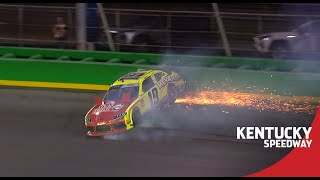 Brandon Jones spins late at Kentucky | NASCAR