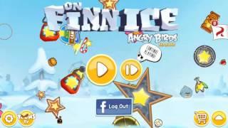 New Angry Birds Seasons On Finn Ice theme