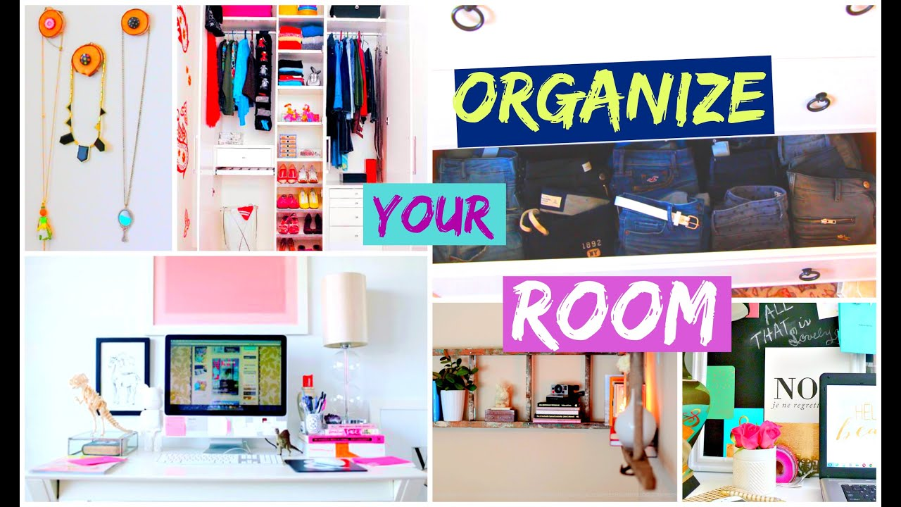 Clean your room closet organization hacks youtube for How to organize your room and closet