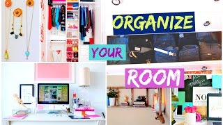 How To Clean Your Room + Closet Organization Tips
