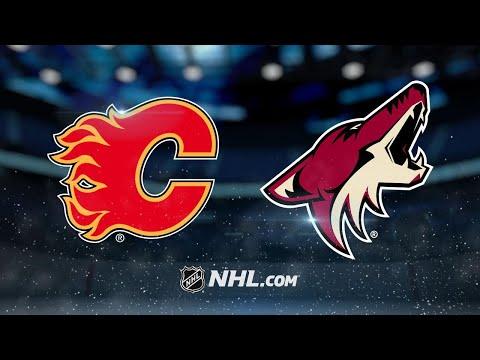 Ekman-Larsson, Domi power Coyotes past Flames, 5-2
