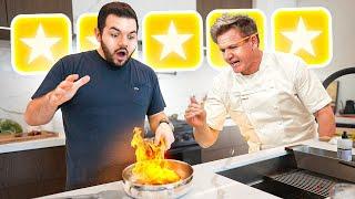 Cooking Challenge vs Gordon Ramsay