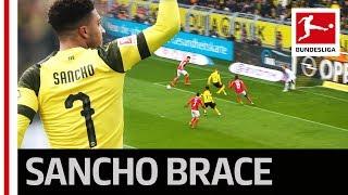 Jadon Sancho Scores 2 Goals in Dortmund's Crucial Win in the Title Race